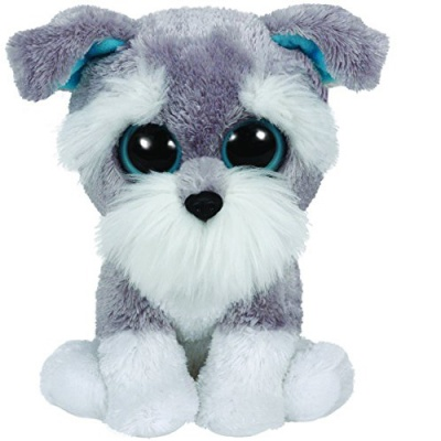 TY Beanie Boo Plush Whiskers the Schnauzer