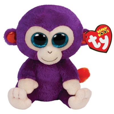 TY Grapes the Monkey Beanie Boo