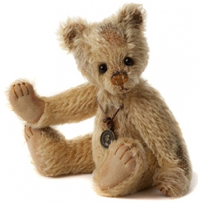 Charlie Bears Minimo Retired Tatty Mohair Teddy Bear