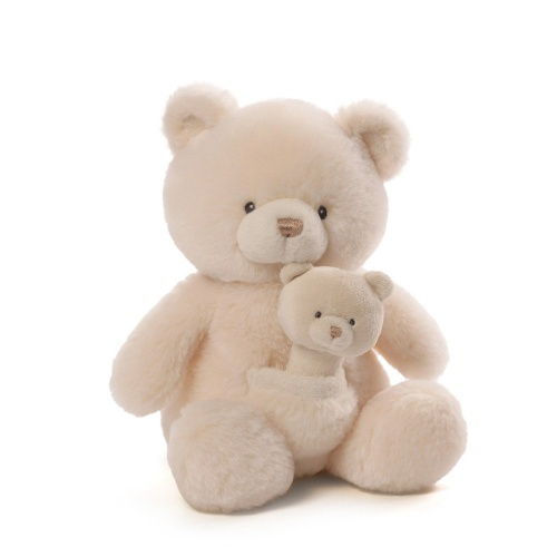 Gund Oh So Soft Bear and Rattle Combo Soft Teddy