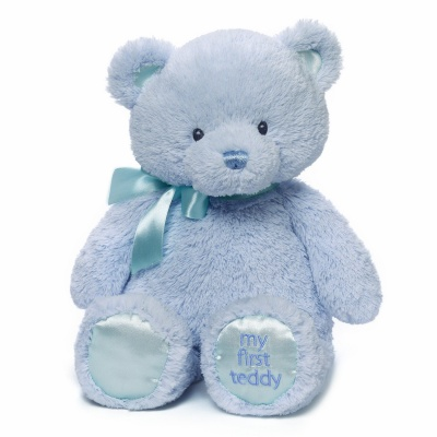 Gund My First Teddy Bear Blue