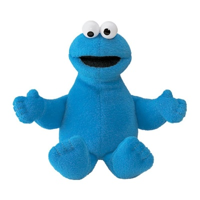 Gund Sesame Street Cookie Monster Beanbag Soft Toy
