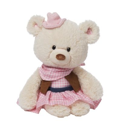 Gund Dandi The Cowgirl Teddy Bear