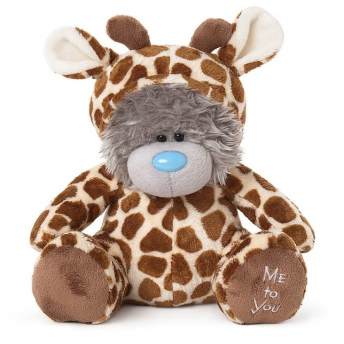 Me to You Bear Dressed Up Onesie Giraffe Small