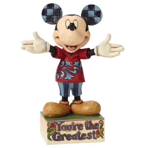 Disney Traditions You're The Greatest Mickey Figure