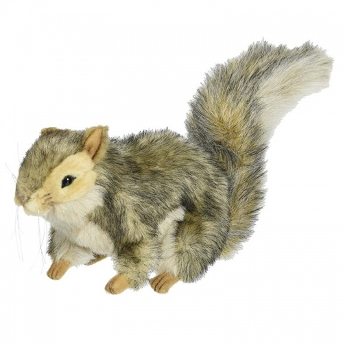 Hansa 4840 Grey Squirrel 22cm Plush Soft Toy