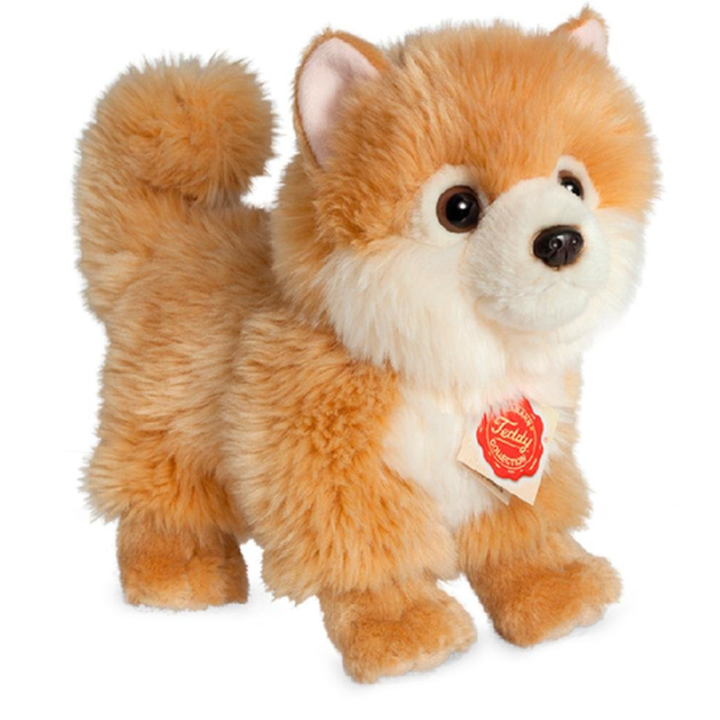 Teddy Hermann Pomeranian Plush Soft Toy Dog Dragon Toys Teddy