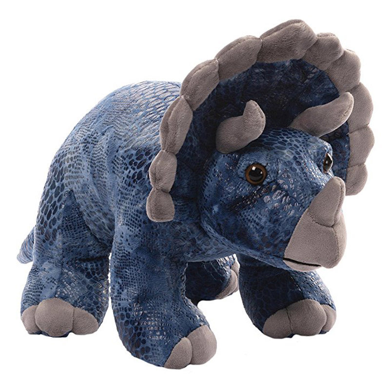 Gund Diesyl 17 Large Triceratops Soft Toy Dragon Toys Teddy Bears