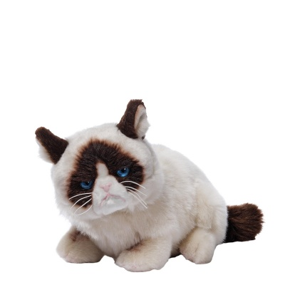 Gund Laying Down Grumpy Cat Plush Soft Toy Animal