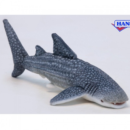 Life like a small whale shark 32cm plush soft toy by hansa for Life size shark plush