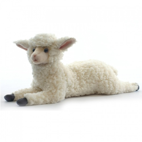 Hansa 4287 Lying lamb 45cm Plush Soft Toy