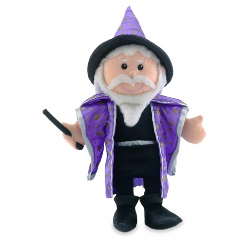 Fiesta Crafts Merlin Hand Puppet Toy
