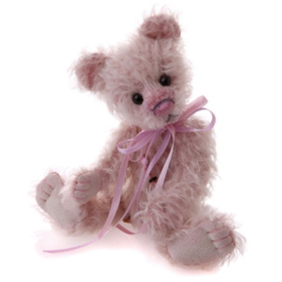 Charlie Bears Minimo Minnie 2011 Retired Mohair Teddy Bear