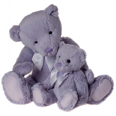 My First Charlie Bear Large in Lilac