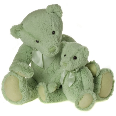 My First Charlie Bear Small in Meadow Green