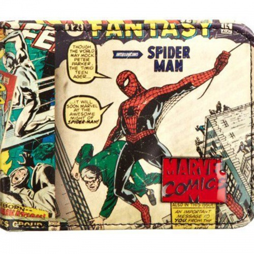 Marvel Retro Exterior Print Men's Wallet