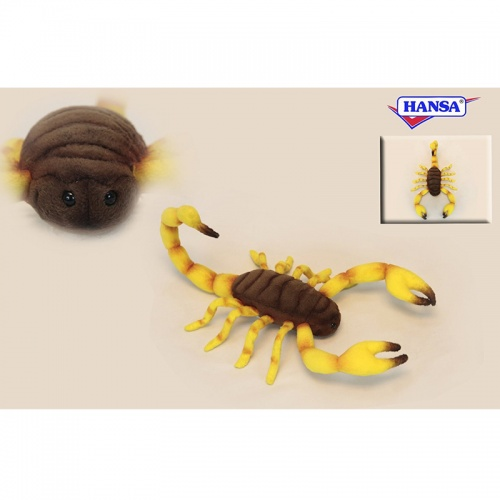 Hansa 6564 Scorpion 37cm Plush Soft Toy