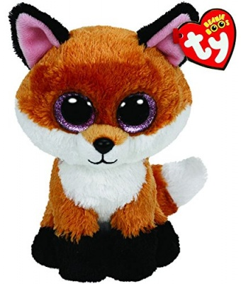 TY Beanie Boo Slick The Fox Plush Soft Toy Animal