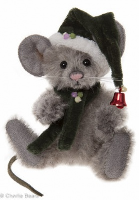 Charlie Bears Key Ring Sneeze 12cm Limited Edition 2015 Teddy Bear