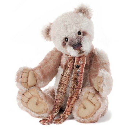 Charlie Bears Isabelle Collection Solitaire Mohair Teddy