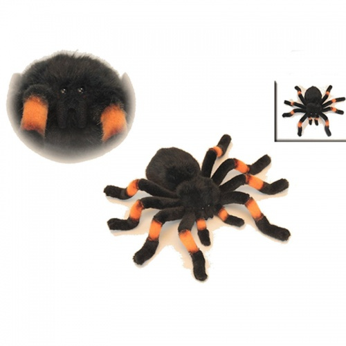 Hansa 6558 Tarantula orange kneed 30cm Plush Soft Toy