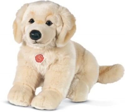 Teddy Hermann Golden Retriever Sitting Plush Soft Toy Dog
