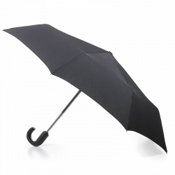 Open & Close-11 Black Robust Automatic Umbrella