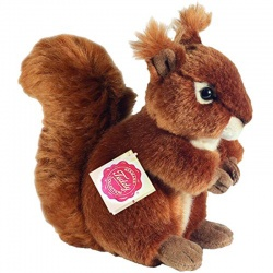 Teddy Hermann 17 cm Squirrel Plush Soft Toy