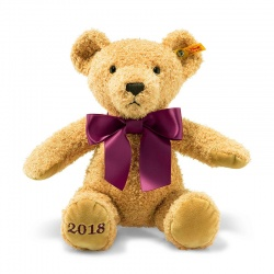 Steiff Cosy Year Bear 2018 Plush Soft Teddy