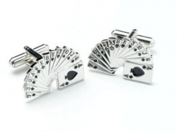 Mens Pack of Cards Novelty Cufflinks