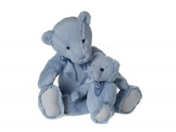 My First Charlie Bear Powder Blue Small