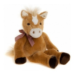 Charlie Bears Bearhouse Bear Woburn Horse Soft Toy