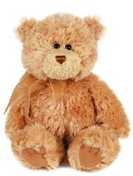 Gund Corin Caramel Bear Plush Soft Teddy