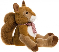 Charlie Bears Bearhouse Bear Sandringham Squirrel Soft Toy