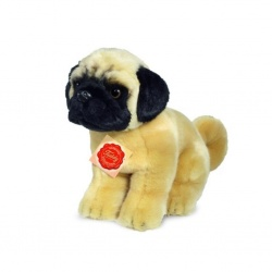Teddy Hermann Pug Sitting 25cm Soft Toy