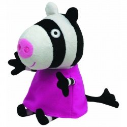 TY Peppa Pig Zoe Zebra Plush Toy