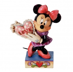 Disney Traditions My Love Minnie Mouse Figurine