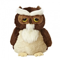 Aurora Dreamy Eyes Brown Barn Owl Plush Soft Toy