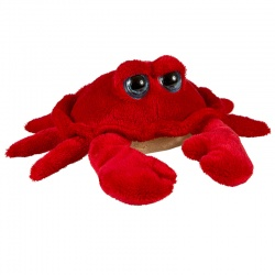 Petjes Big Eyes Crab Red Soft Toy