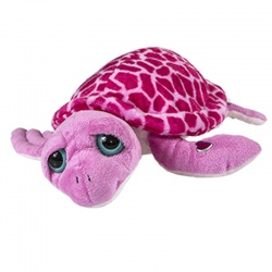 Petjes Girly Turtle Pink Soft Toy