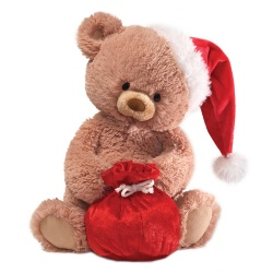 Gund Tinsel Festive Plush Soft Teddy Bear