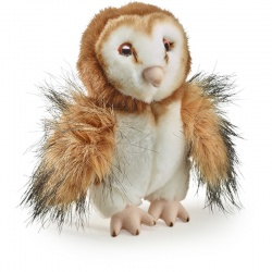 Petjes Cubsy Barn Owl Soft Toy