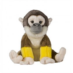 Petjes Cubsy Squirrel Monkey Soft Toy