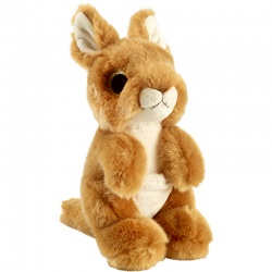 Petjes Glitter Eyes Kangaroo Soft Toy