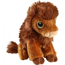 Petjes Glitter Eyes Bison Soft Toy