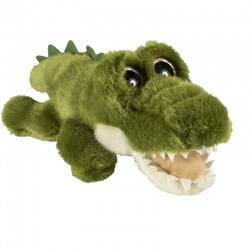 Petjes Glitter Eyes Crocodile Soft Toy
