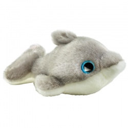 Petjes Glitter Eyes Dolphin Soft Toy