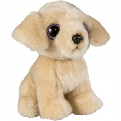 Petjes Glitter Eyes Golden Retriever Soft Toy