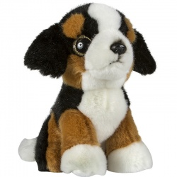 Petjes Glitter Eyes Bernese Dog Soft Toy