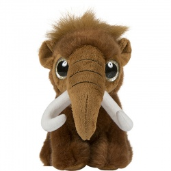 Petjes Glitter Eyes Mammoth Soft Toy
